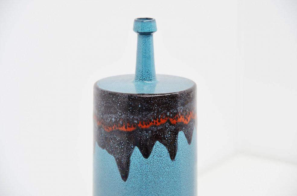 San Polo Venezia large ceramic vase Italy 1959