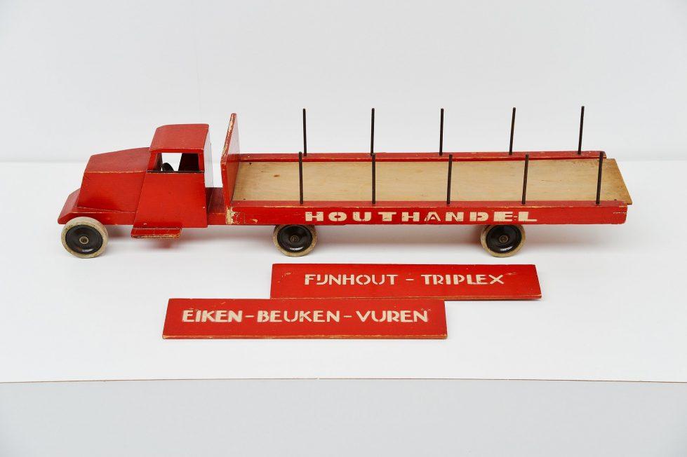 Ado Houthandel truck Ko Verzuu, Holland 1939