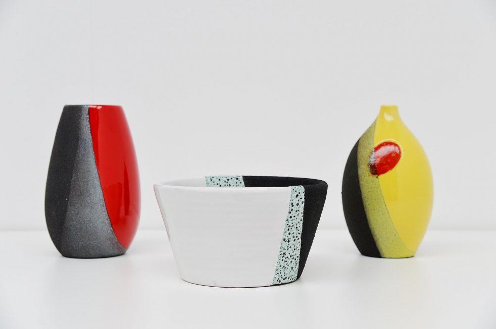 Ettore Sottsass Jr. ceramics by Bitossi Italy 1958