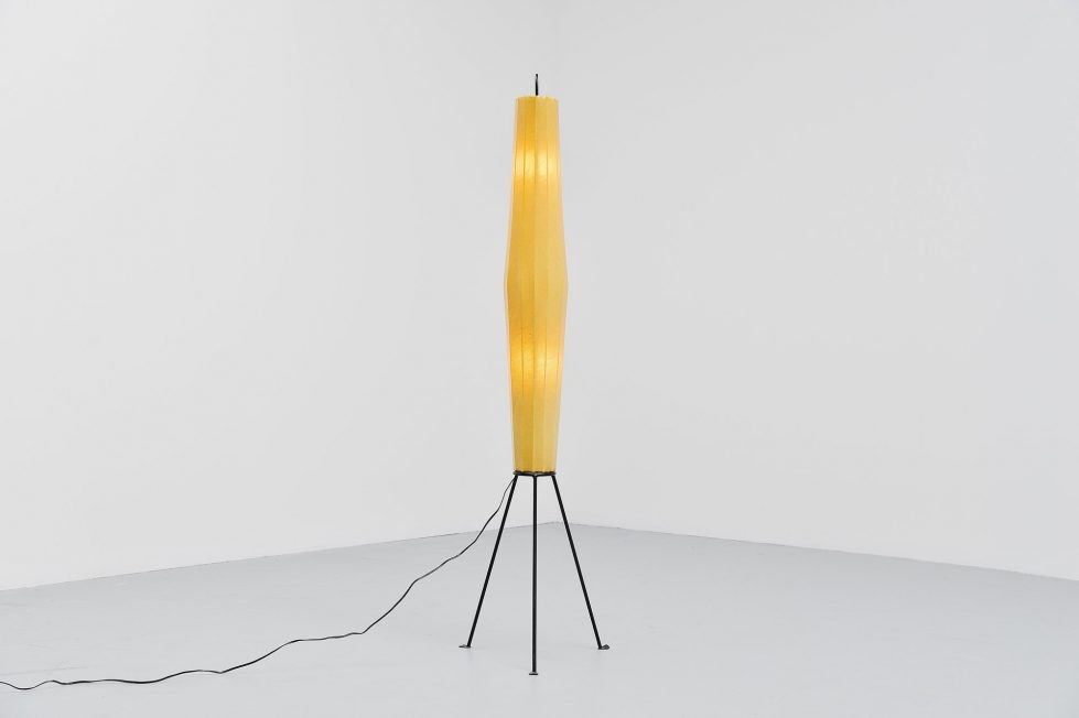 H. Klingle Lugano floor lamp for Artimeta 1957