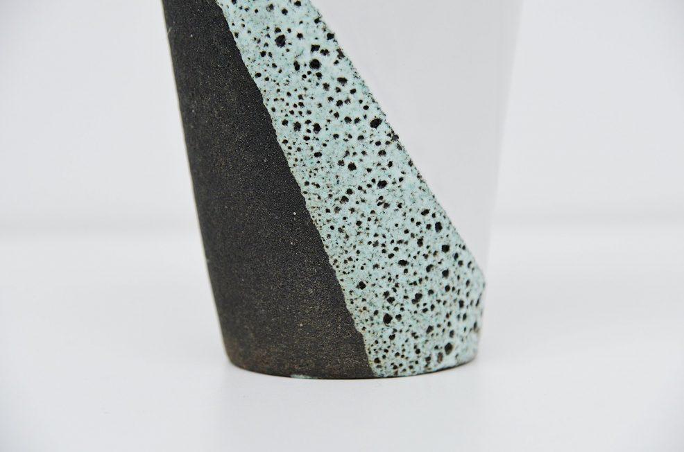 Ettore Sottsass Jr. ceramic vase by Bitossi Italy 1958