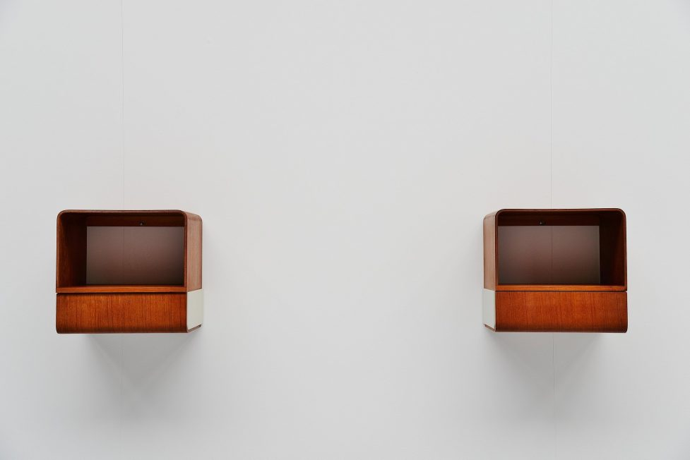 Friso Kramer Euroika Bed cabinets Auping 1963