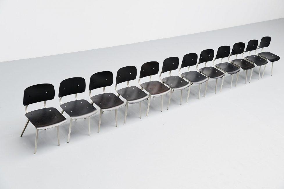 Friso Kramer Revolt chairs for Ahrend de Cirkel 1953