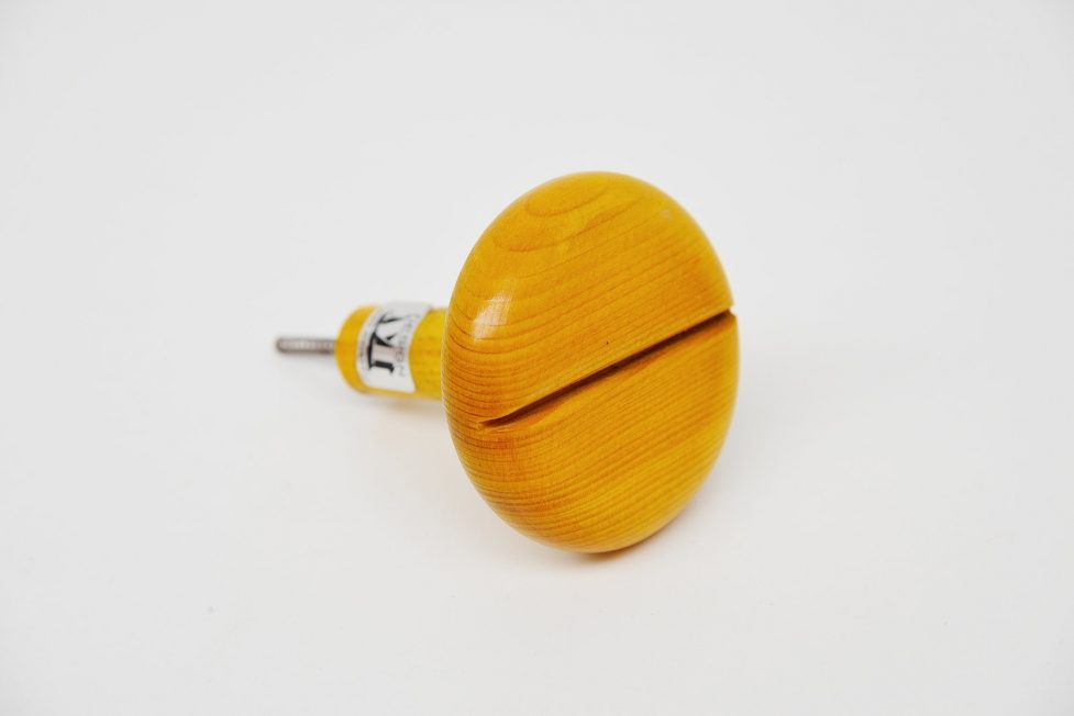 Ingo Maurer wooden wardrobe knobs Germany 1974