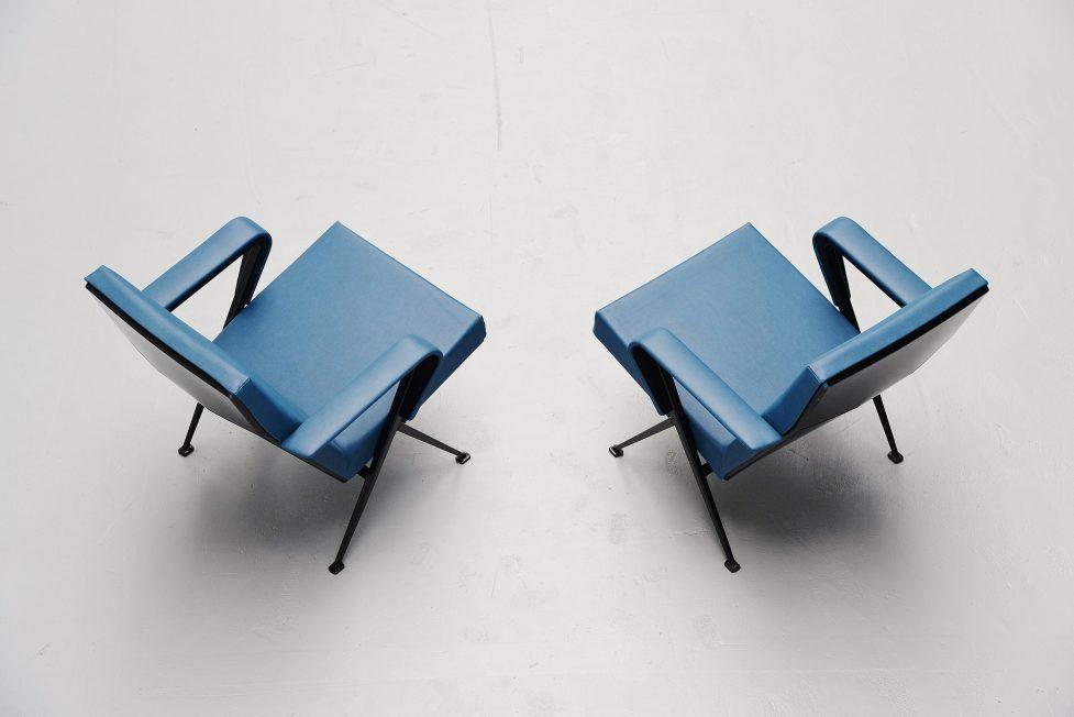 Friso Kramer Repose chairs Ahrend de Cirkel 1959