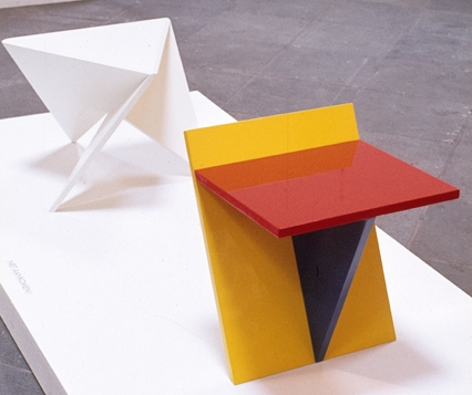 Ronald Willemsen white side table Metaform 1980