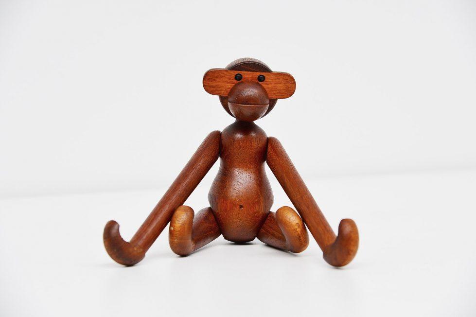 Kay Bojesen toy monkey Denmark 1951