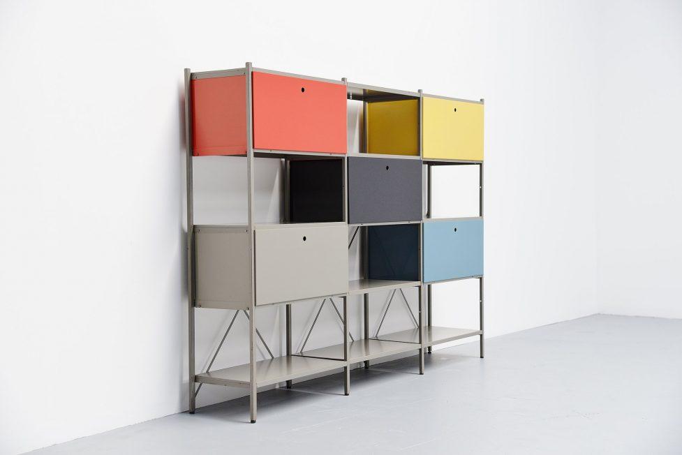 Wim Rietveld 663 modular cabinet for Gispen 1954