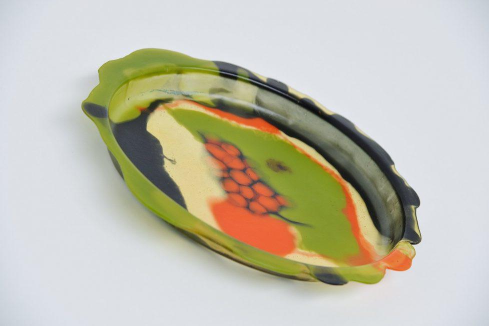 Gaetano Pesce serving tray Fish Design 1987