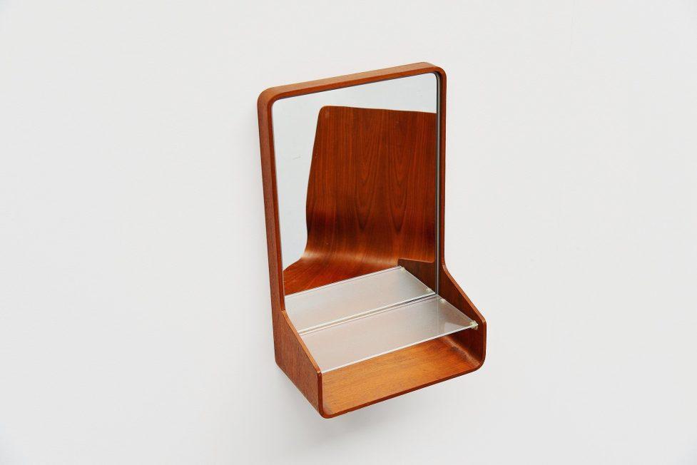 Friso Kramer Euroika vanity mirror Auping 1963