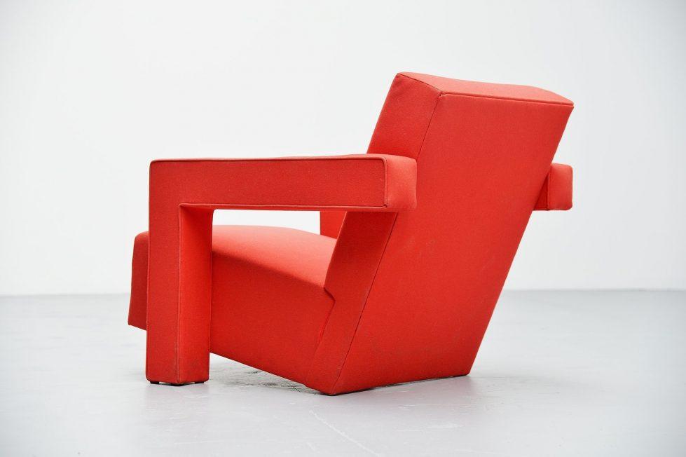 Gerrit Thomas Rietveld Utrecht chair Metz & Co 1950