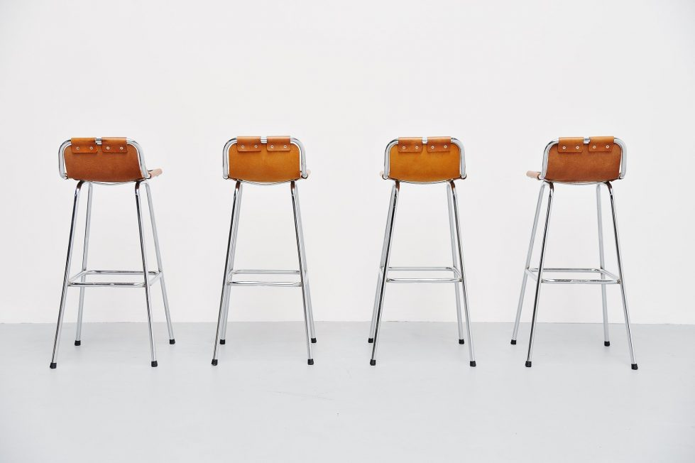Charlotte Perriand bar stools Ski Resort Les Arcs France 1960