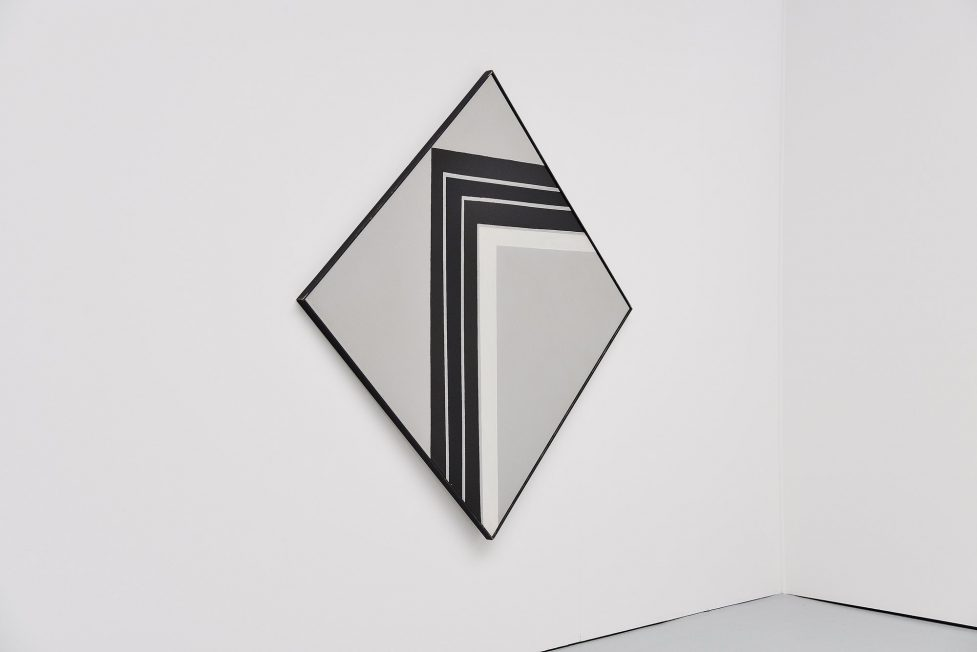 Rudolf Wolf abstract geometric diamond painting 1981