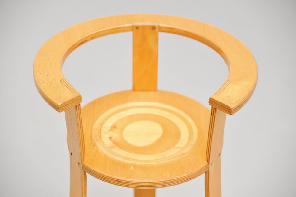 Gunnar Daan childrens chair for Metz & Co 1966