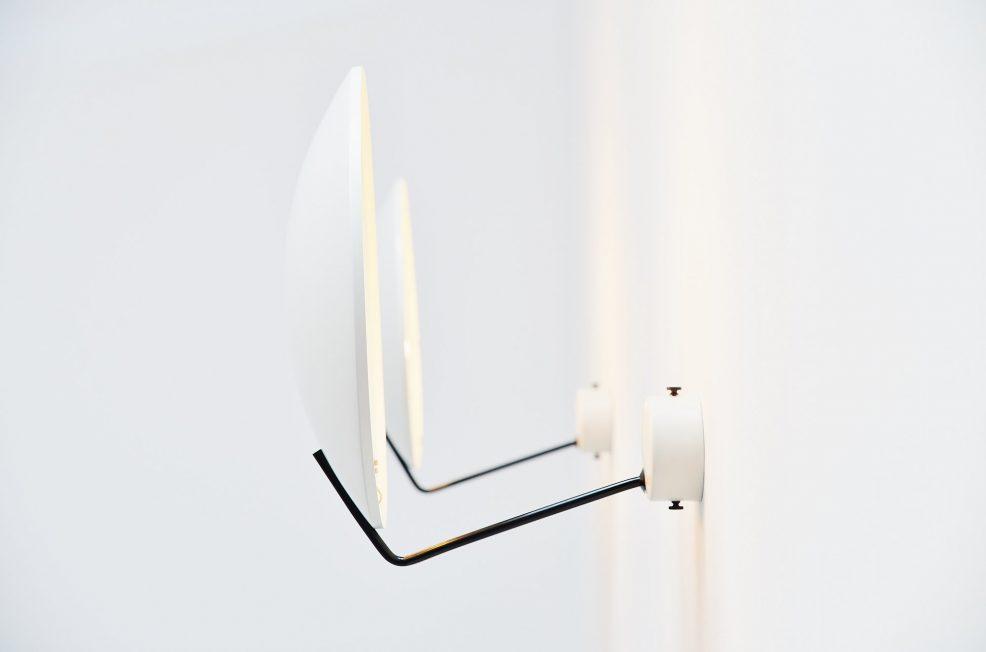 Stilnovo wall lamps model 232 by Bruno Gatta, Italy 1962