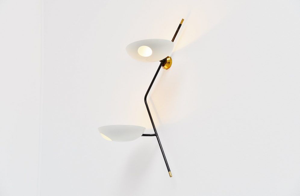 Stilnovo wall lamp by Bruno Gatta, Italy 1955