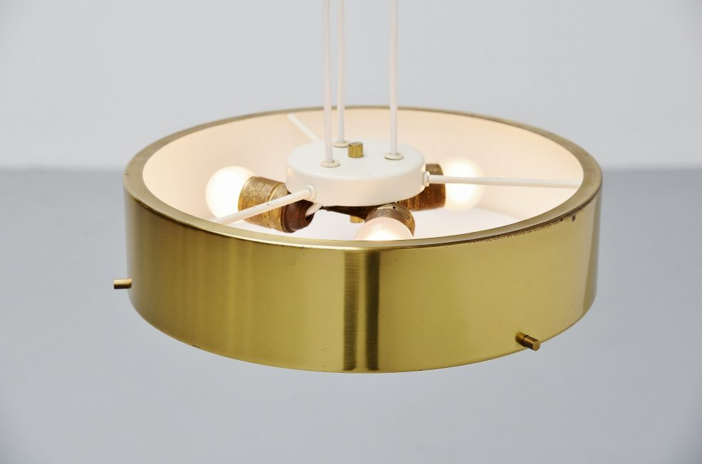 Stilnovo pendant lamp Model 1090 by Bruno Gatta, Italy 1954