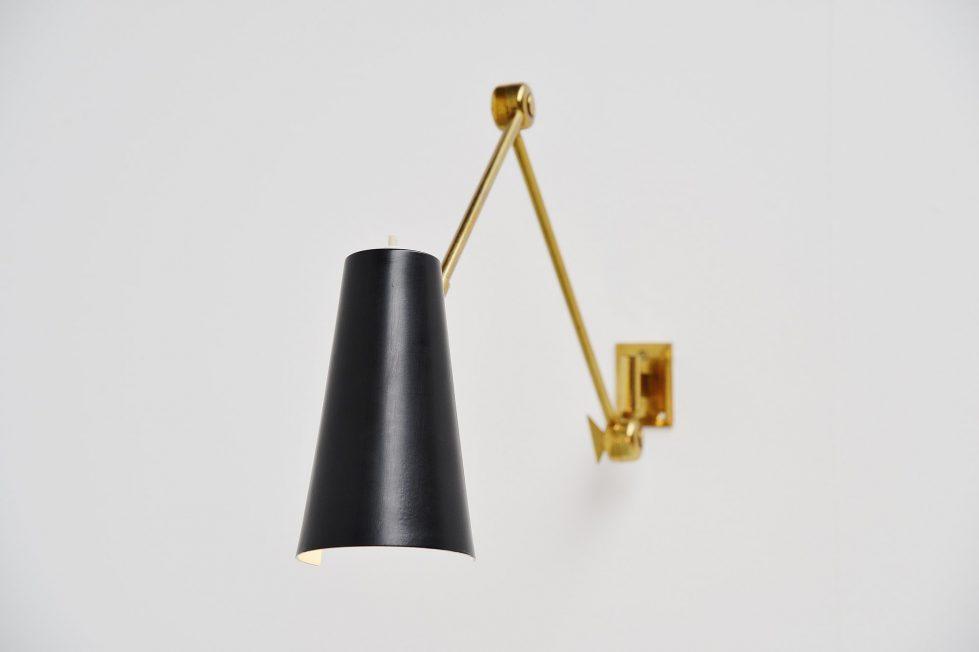 Stilnovo wall lamp model 2024, Italy 1955