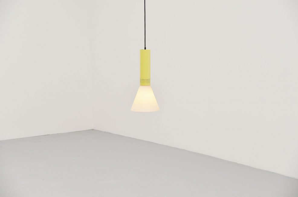 Stilnovo pendant lamp model 1135, Italy 1960