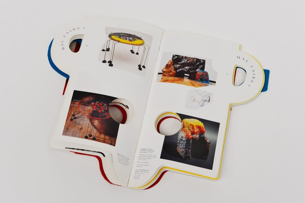 Gaetano Pesce Centre Pompidou exhibition book 1996