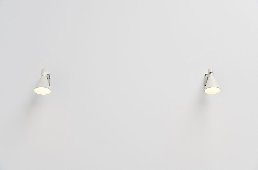 Stilnovo sconces pair model 2085, Italy 1960