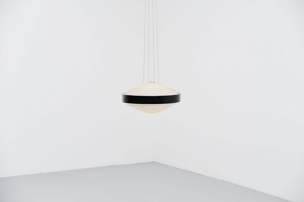 Stilnovo pendant lamp Model 1088 by Bruno Gatta, Italy 1959