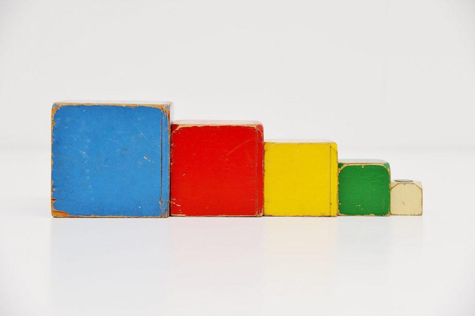 Ado cubes set Ko Verzuu 1950