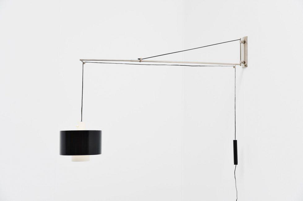 Gaetano Sciolari Stilnovo wall lamp model 2061, Italy 1954