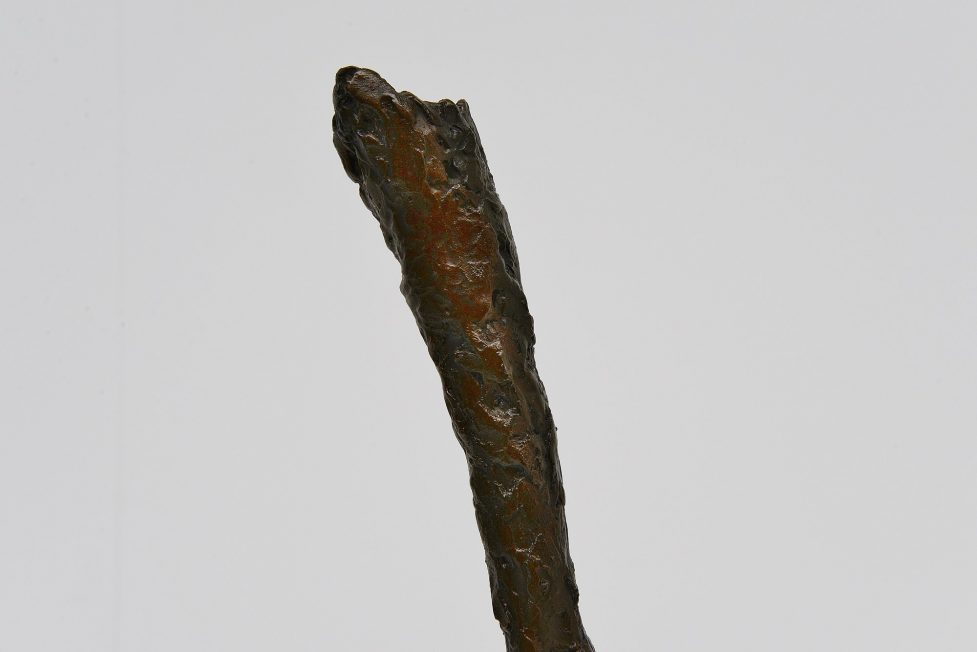 Alberto Giacometti style sculpture leg shaped 1970