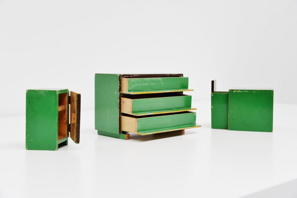 Ado toy furniture Ko Verzuu, Holland 1939