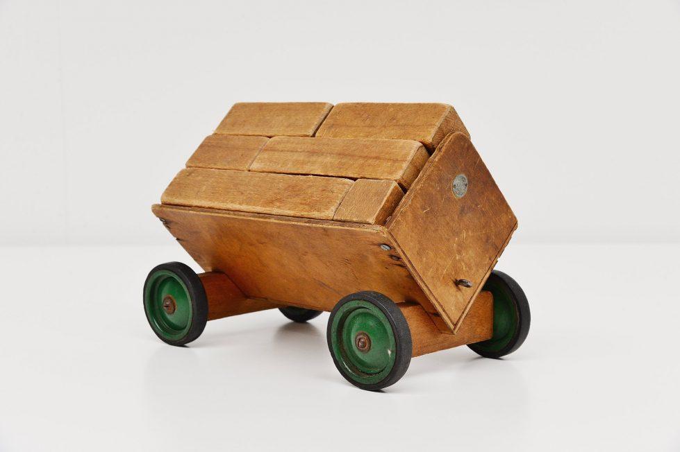 Ado Ko Verzuu cube kart, Holland 1949