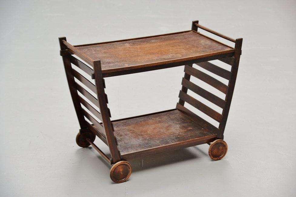 Gerrit Rietveld tea cart Metz & Co ca. 1945
