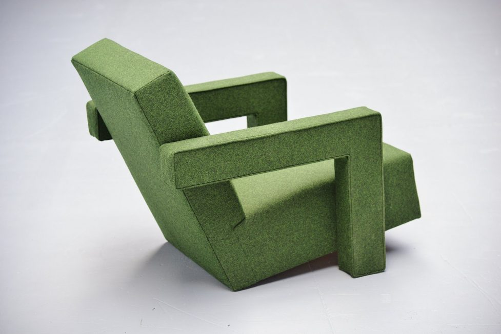 Gerrit Rietveld Utrecht chairs Metz & Co 1961