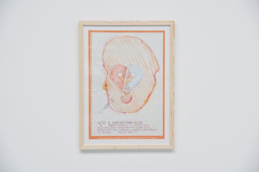 Gaetano Pesce exhibition poster Bernini Italy 2001