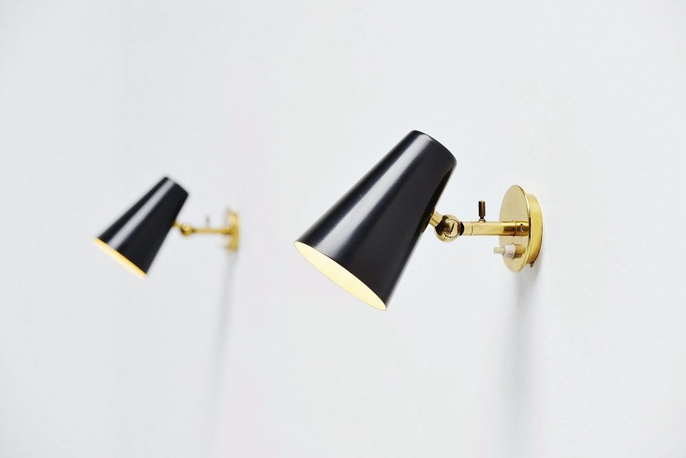 Gino Sarfatti sconces model 19 Arteluce 1951