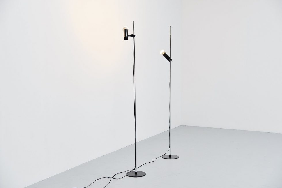 Gino Sarfatti floor lamps model 1055/SP Arteluce 1955