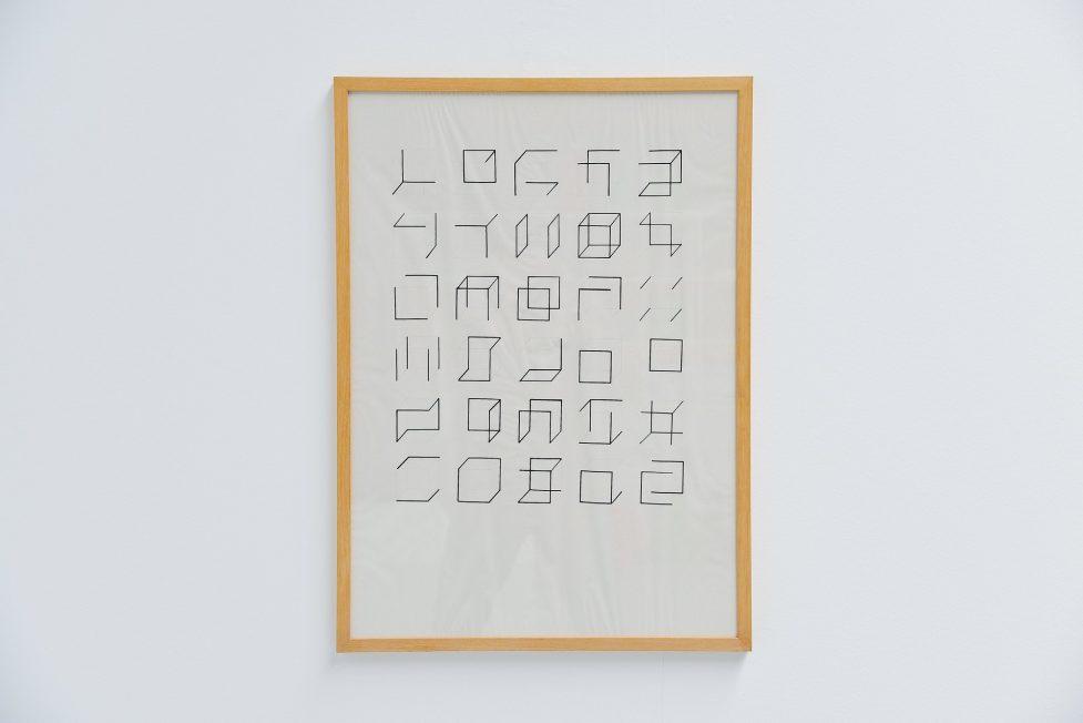 Anne Rose Regenboog cubes sketch, Den Haag 2016