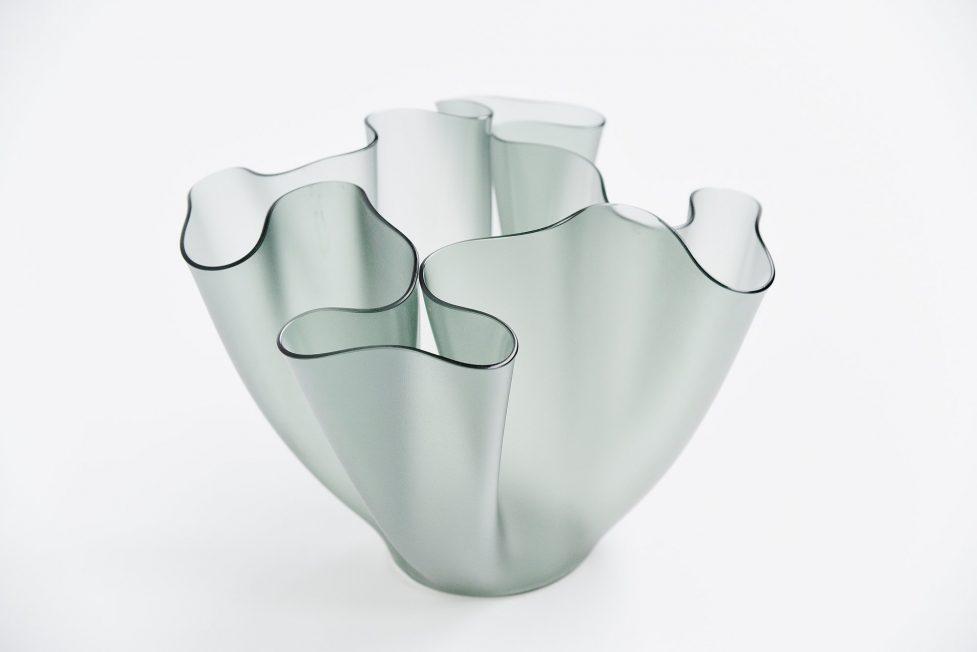 Pietro Chiesa Cartoccio vase by Fontana Arte Italy 1932