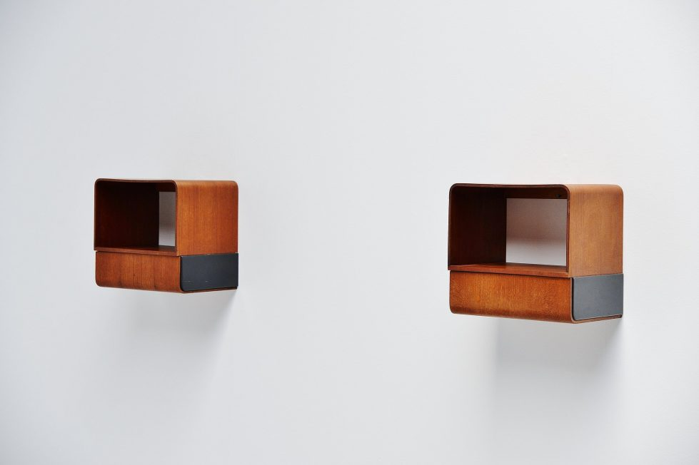 Friso Kramer Euroika night cabinets Auping 1963