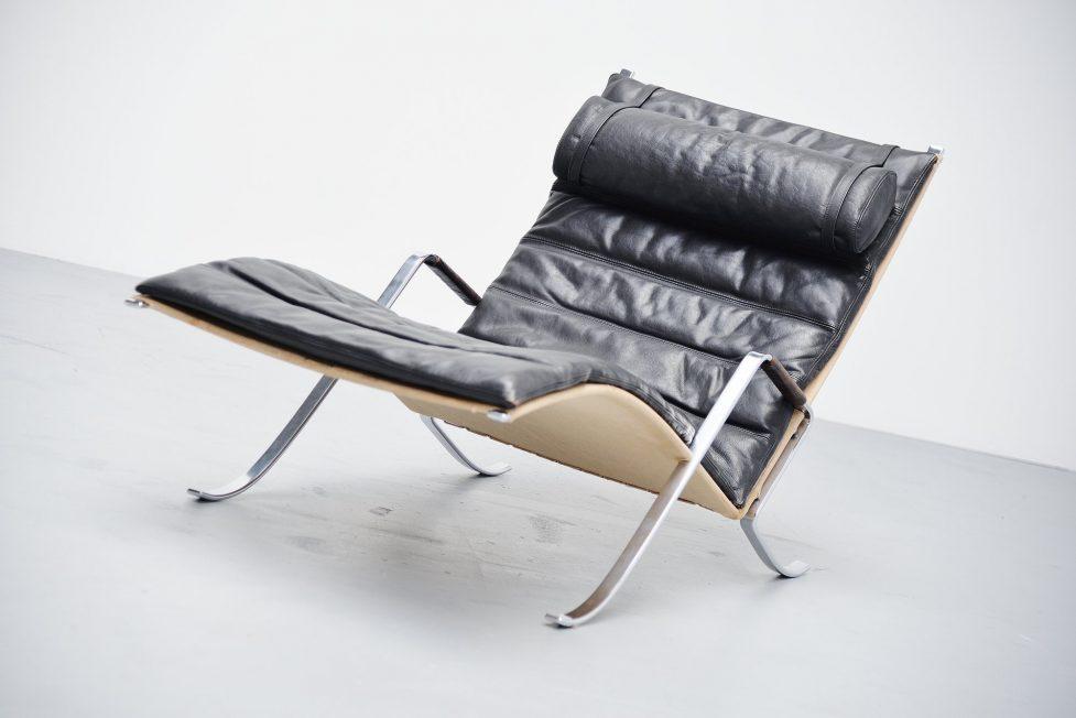 Preben Fabricius Jorgen Kastholm FK 87 Grasshopper chair Kill 1967