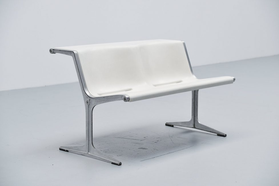 Friso Kramer Wilkhahn bench model 1200 Germany 1972