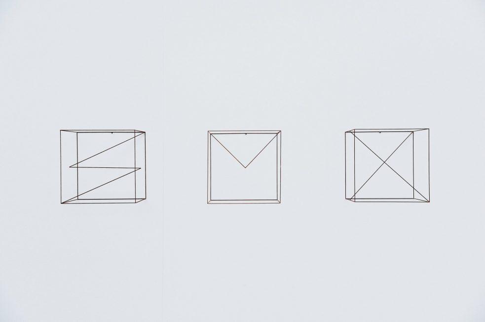 Anne Rose Regenboog cubes set Den Haag 2015