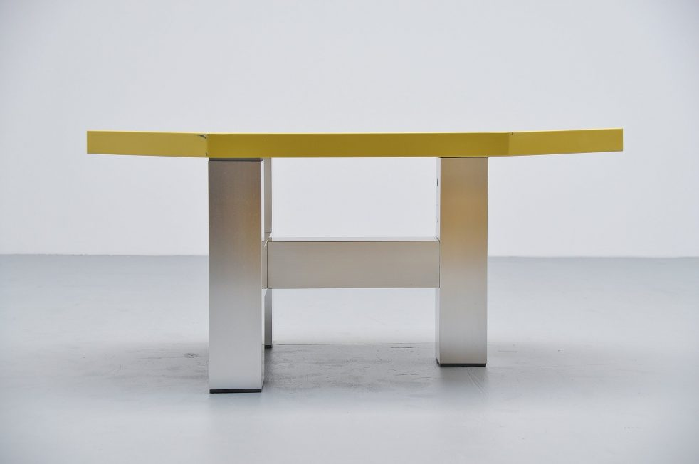 Martin Visser modernist table TE21 Spectrum 1987