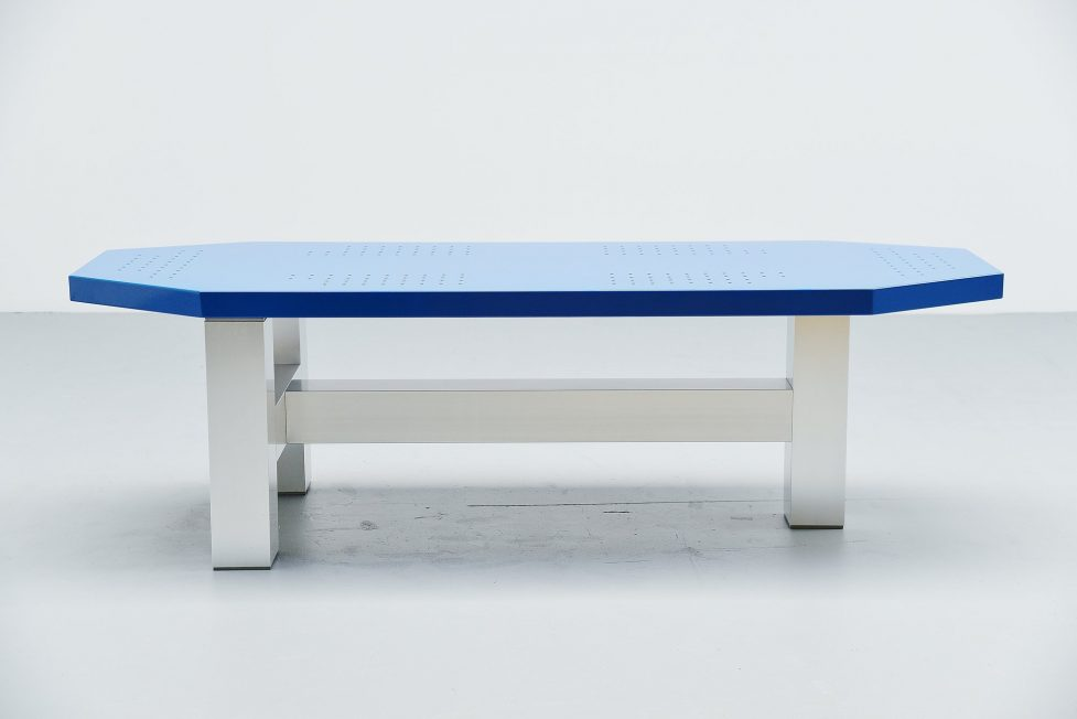 Martin Visser modernist table TE20 Spectrum 1987