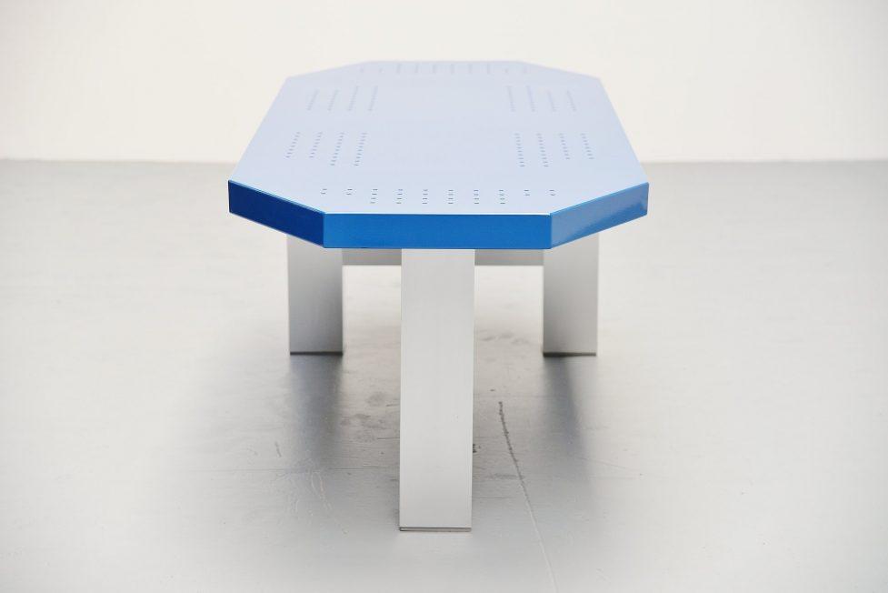 Martin Visser modernist table TE20 Spectrum 1987
