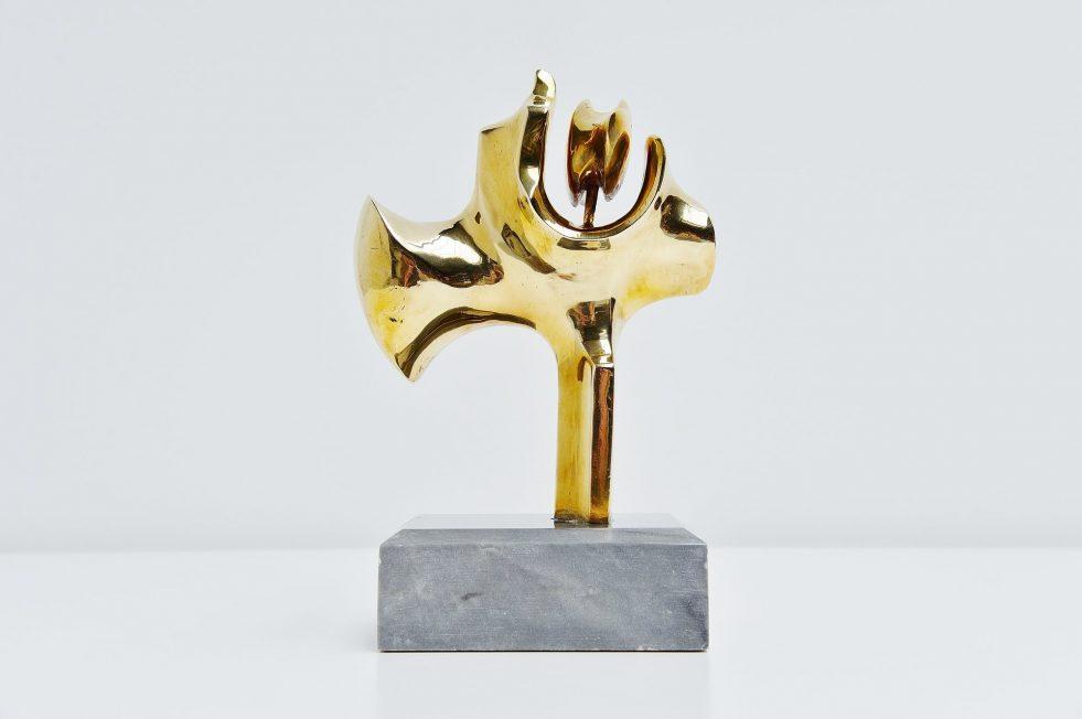 Hattakitkosol Somchai bronze tree / plant sculpture 1970