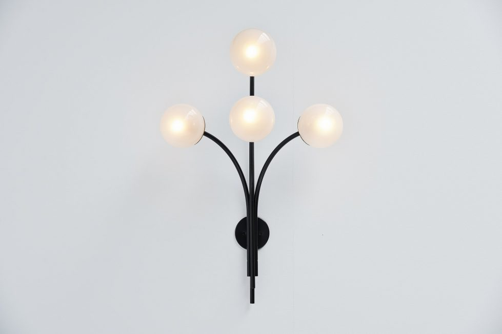 Sergio Asti wall lamp Arteluce model 257 Italy 1966
