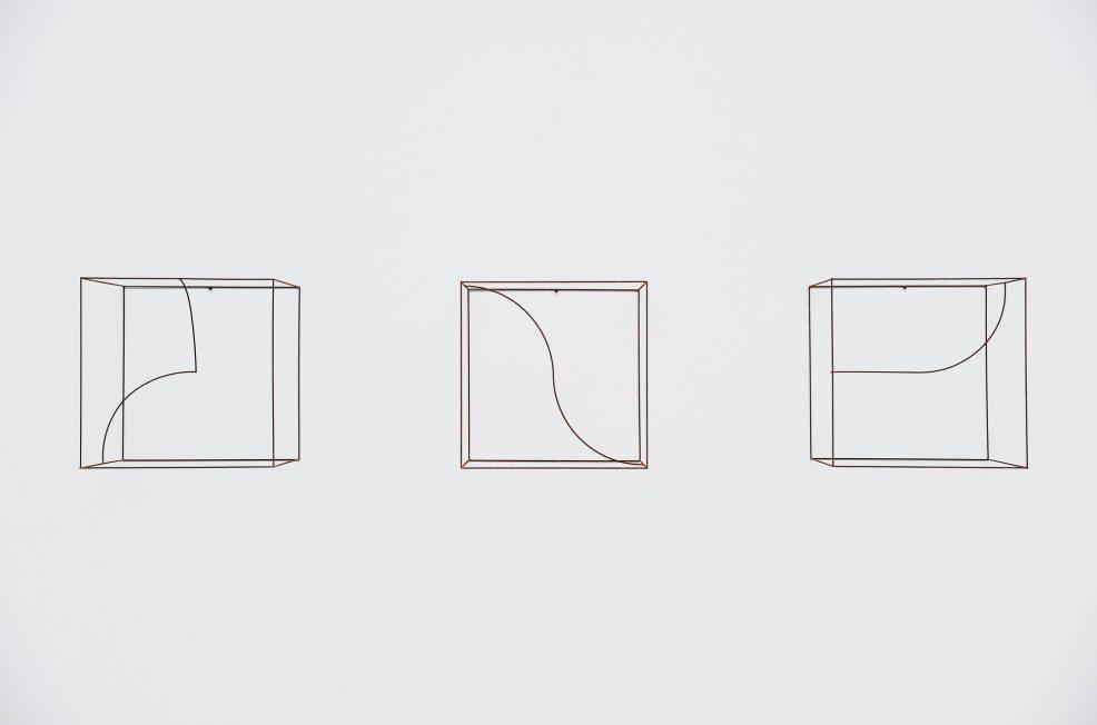 Anne Rose Regenboog cubes curves set Den Haag 2015