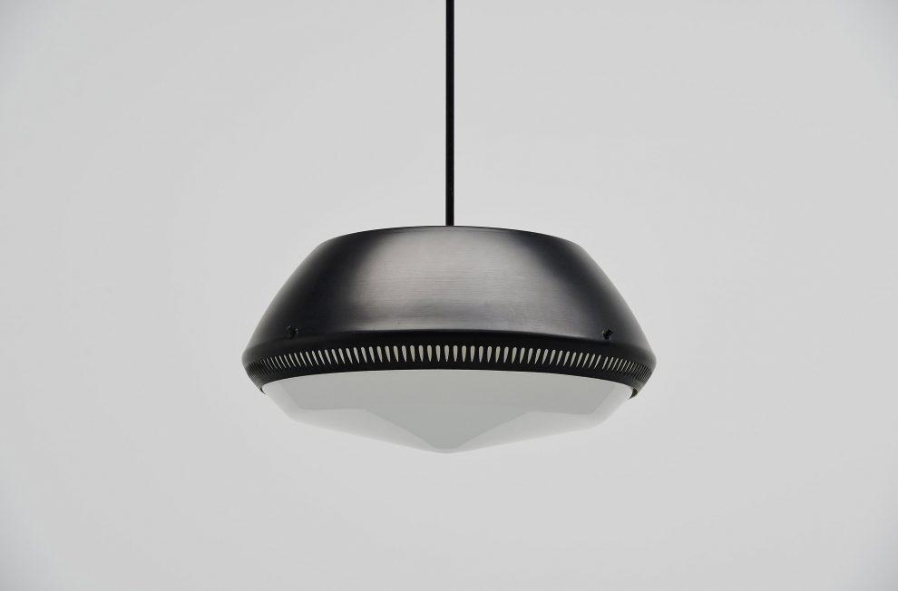 Sergio Asti pendant lamp by Arteluce Milano 1950