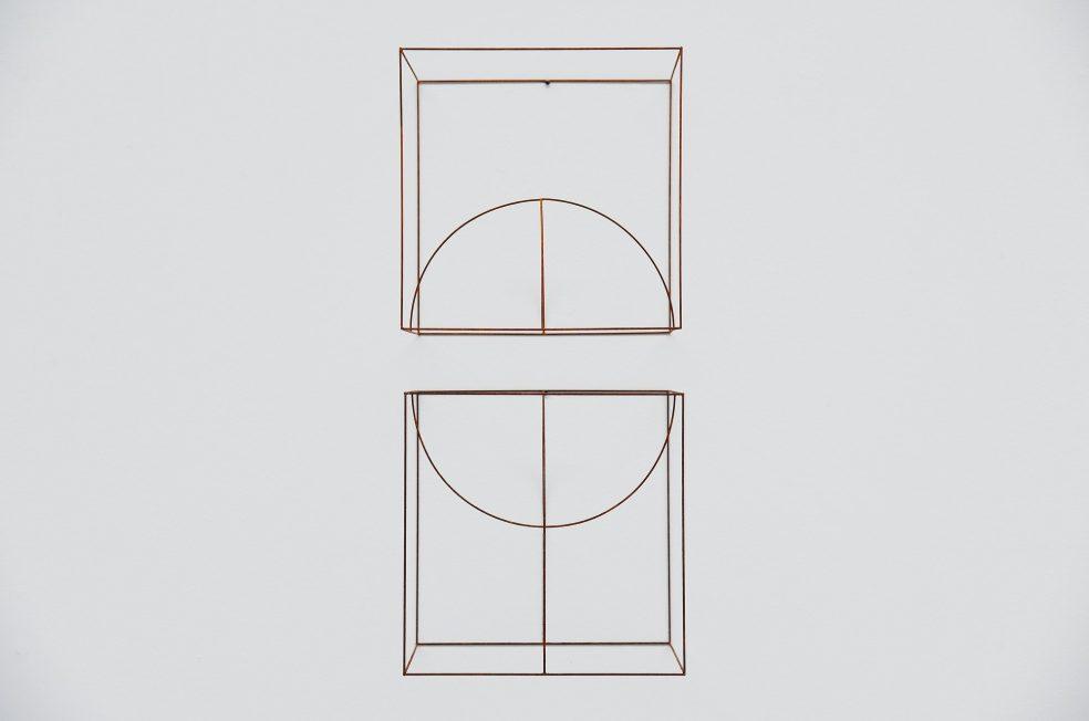 Anne Rose Regenboog cubes dome set, Den Haag 2015